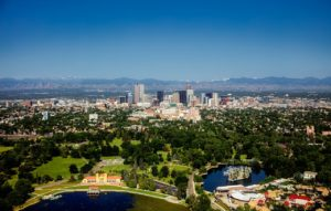 Photo of the city of Denver, Colorado