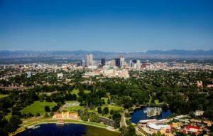 Photo of the city of Denver, Colorado